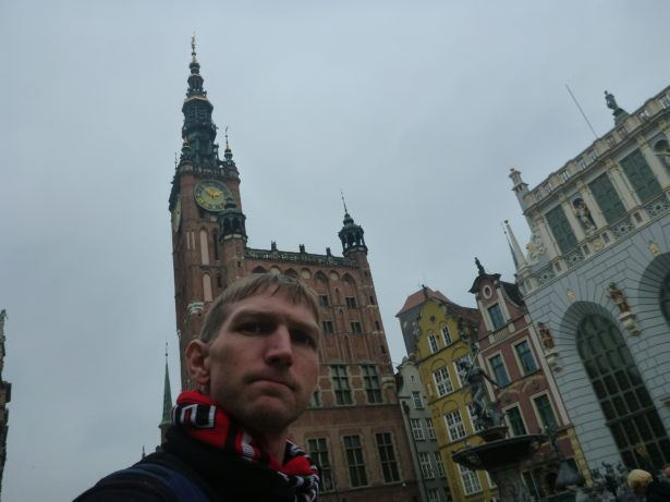 All alone backpacking Gdańsk