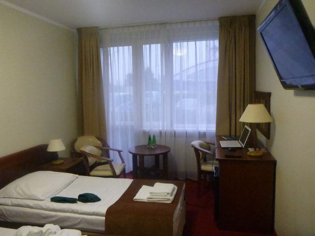 My room in Hotel Zawisza