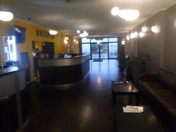 Reception at Hotel Zawisza