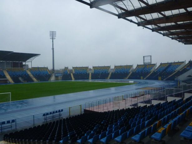 SP Zawisza Bydgoszcz play their home matches here