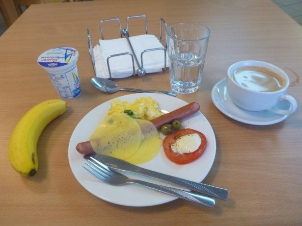 Breakfast at Hotel Zawisza
