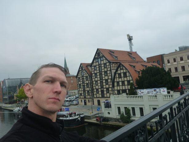 Touring beautiful Bydgoszcz, Poland