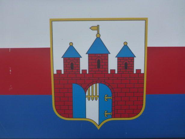 Bydgoszcz city flag