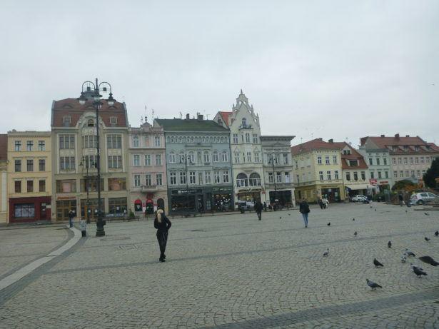 Bydgoszcz, Poland - central square