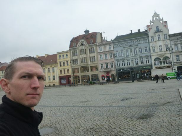 In the Stary Rynek - Old Town Square