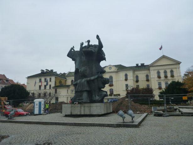 Autumnal charm of Bydgoszcz's Stary Rynek