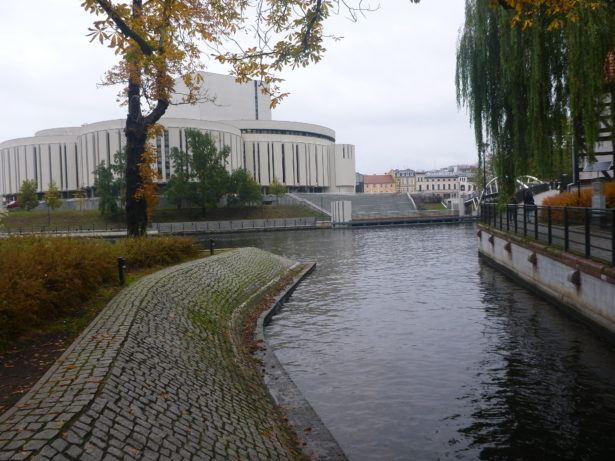 Opera Nova on the river
