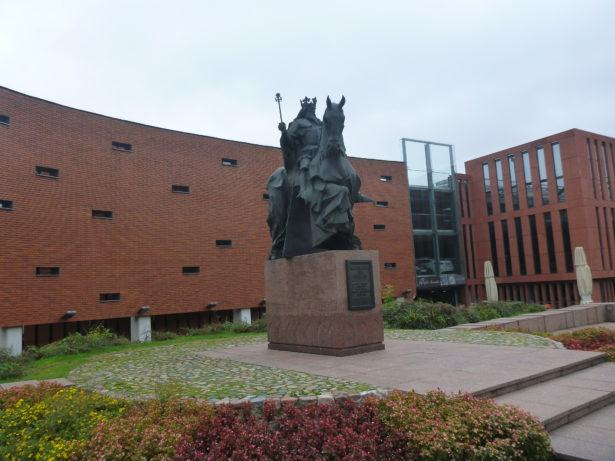 Kasimir the Great Statue