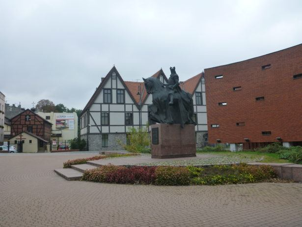 Backpacking in Bydgoszcz, Poland