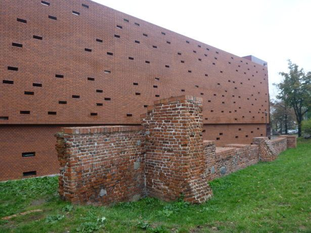 Bydgoszcz - reminders of old city walls