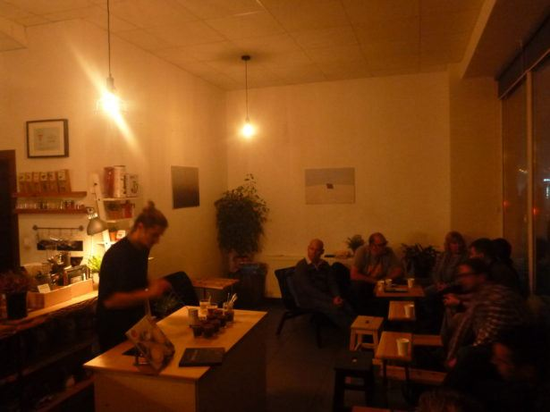 Coffee Tasting at Po Co Cafe