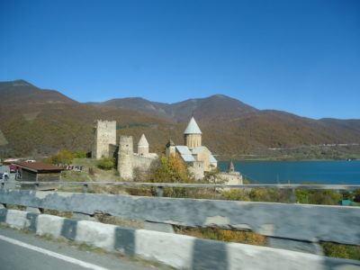 Monastery on the trip to Kazbegi