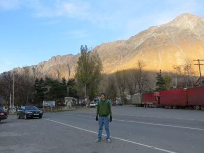 Backpacking in Kazbegi