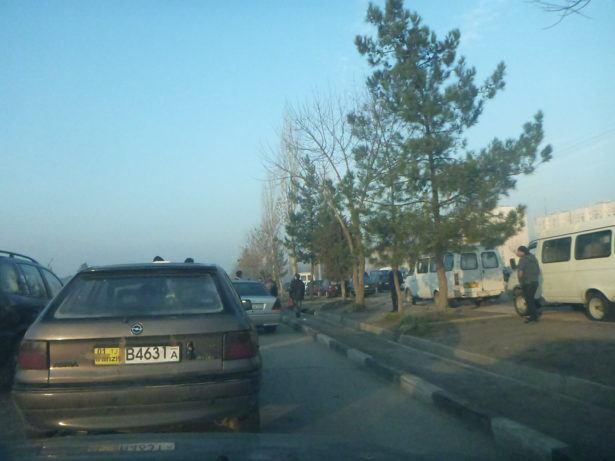 Leaving Dushanbe, Tajikistan