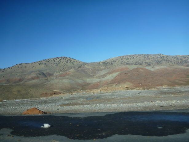 The drive to Guzor