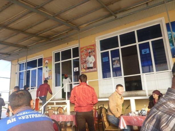 The restaurant in Guzor