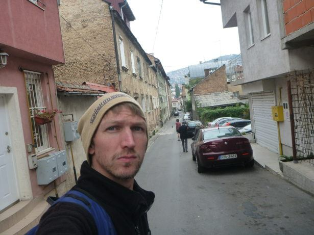 Backpacking in Bosnia: the streets of Sarajevo