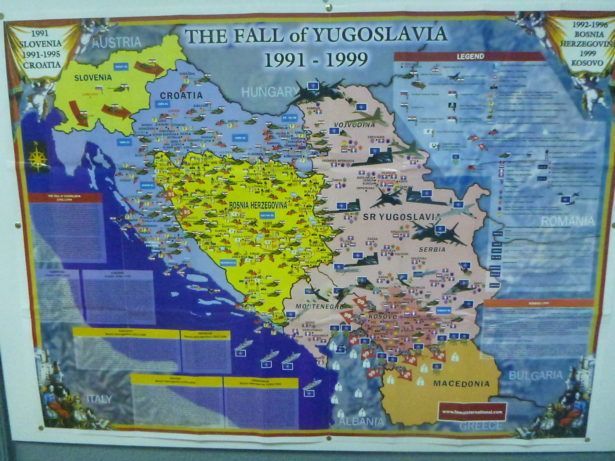 1992 - 1999 - the Fall of Yugoslavia