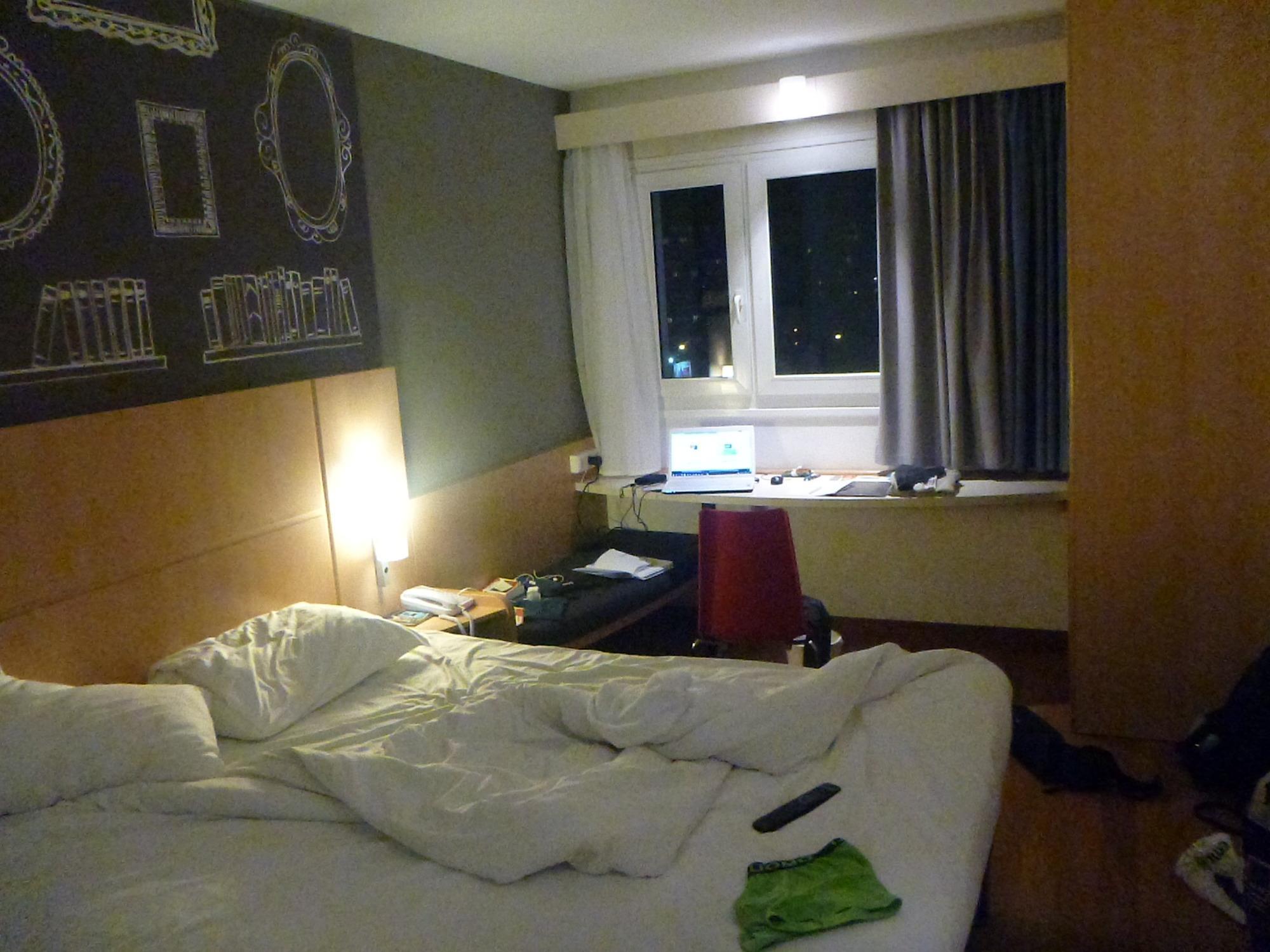 in winter in my room