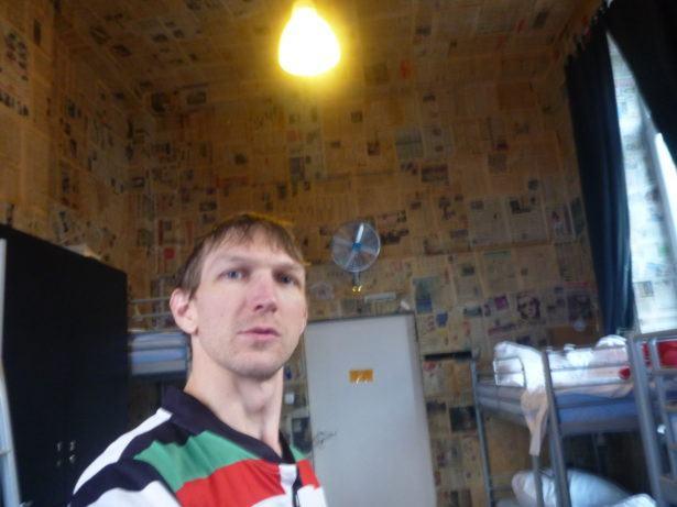 My stay in the newspaper room (Gazetka) Oki Doki Hostel, Warsaw