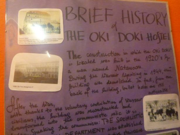 Read the history of the Oki Doki Hostel