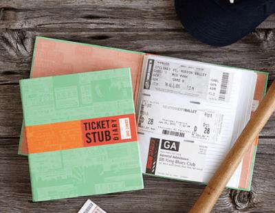 The ticket stub diary
