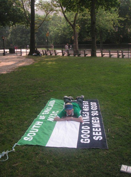 Relaxing in Central Park, NYC