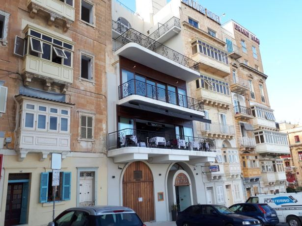 My Stay at The Famous British Hotel in Valletta, Malta