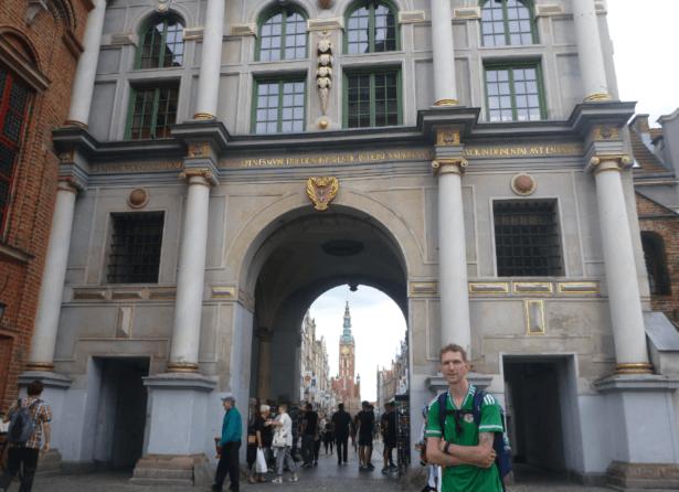 Gdańsk, Poland, July 2016