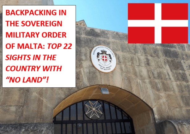 Backpacking in the Sovereign Military Order of Malta: Top 22 Sights in Fort St. Angelo Upper Section