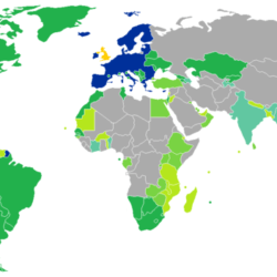 There Are 174 Visa Free Countries for British Citizens