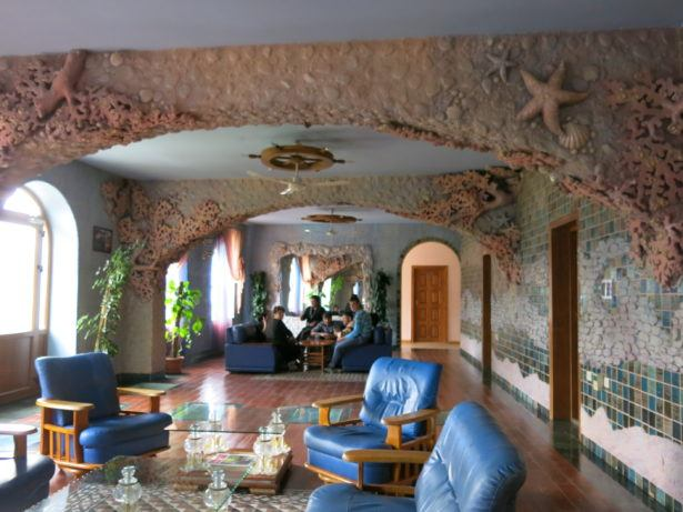 one of the most unusual places i have slept in the eclectic hotel in vank nagorno karabakh