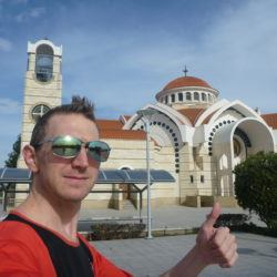 Backpacking in Tseri, Cyprus