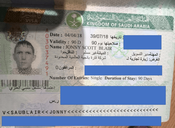 How to get Saudi Arabia Visa Tourist