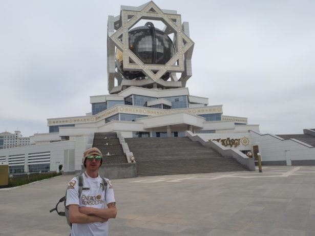 Backpacking in Turkmenistan: Staying at the Swanky Bagt Koshgi Hotel and Wedding Palace in Ashgabat