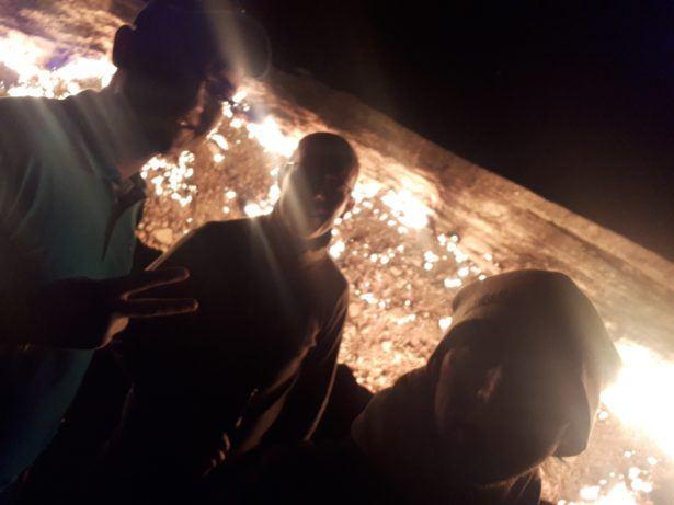 Sacrifice at the Darvaza Gas Crater