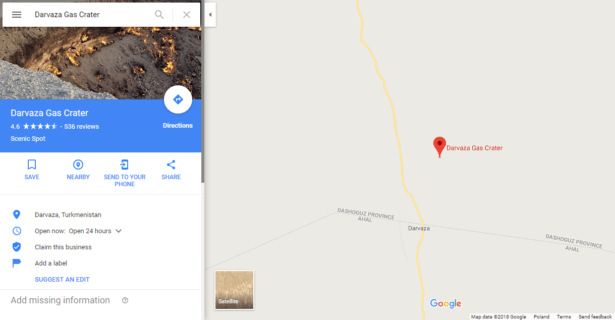 How to get to Darvaza Gas Crater in Turkmenistan
