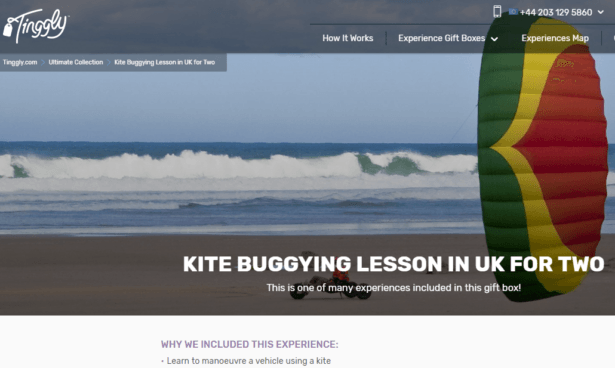 Kite Buggying Lesson in Cornwall, England