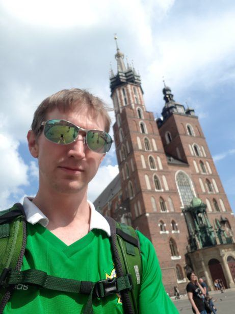 Backpacking in Poland: Kraków