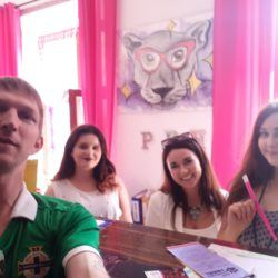 Backpacking in Poland: Staying at the famous Pink Panther's Hostel inKraków