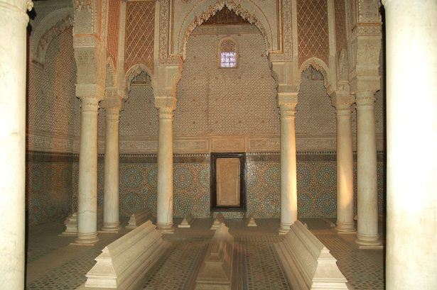 Saadian Tombs in Marrakesh
