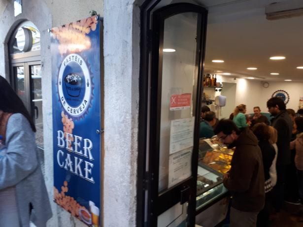Eat Beer Cake in Belem