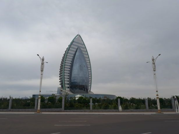 The Vagina Hotel, Ashgabat, Turkmenistan