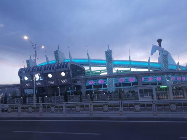 Olympic Village, Ashgabat, Turkmenistan