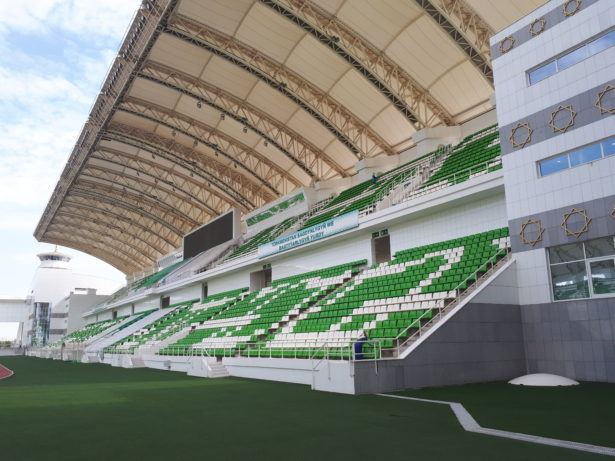 The National Football Stadium Ashgabat Turkmenistan