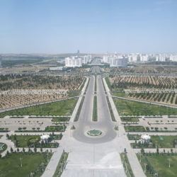 Backpacking in Turkmenistan: Top 20 Sights in Magnificent Ashgabat, City of the Future