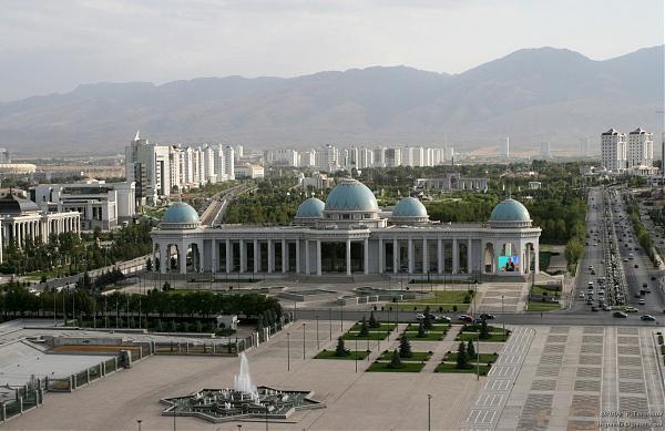 The Palace of Turkmenbashi