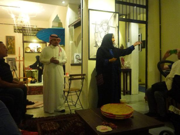 Backpacking in Saudi Arabia: Art House tour in Ta'if
