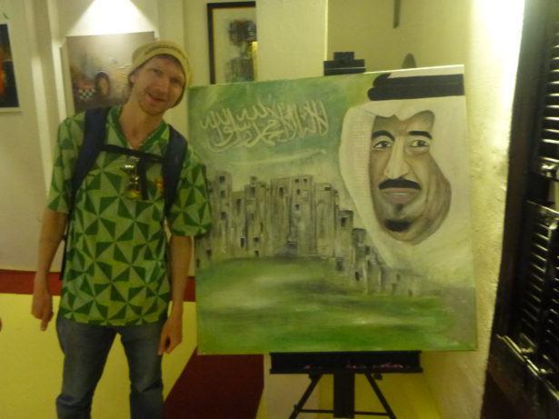 Backpacking in Saudi Arabia: Art House tour in Ta'if