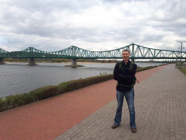 Relaxing in Włocławek this week - 15 years later.